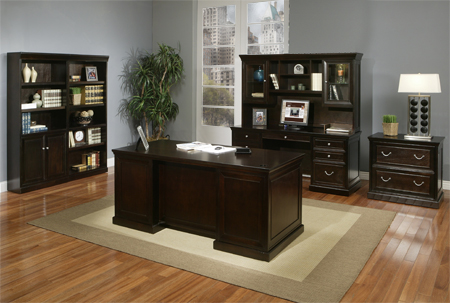 Martin fulton desk series office resource group - Home office furniture toronto ...
