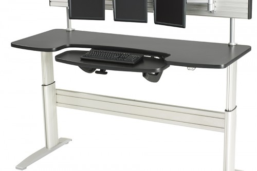 new heights furniture. rightangle newheights series electric height adjustable bases and workstations new heights furniture