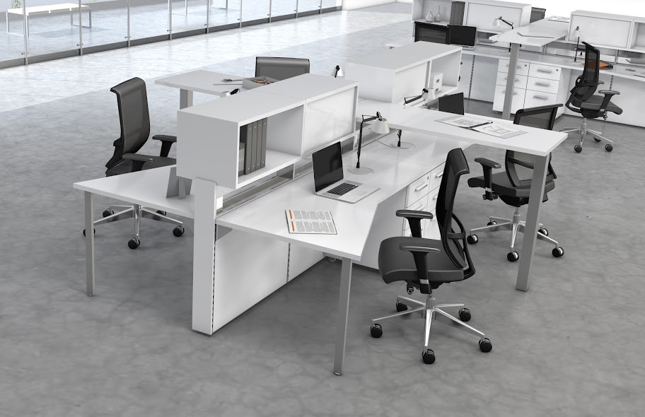 Mayline E5 Series Open Desking Series Office Resource Group