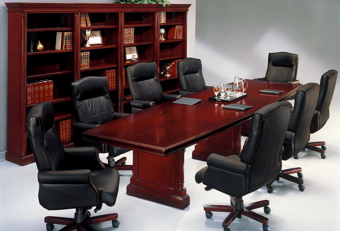 DMI Keswick Conference Table Series Office Resource Group - Red conference table