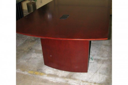 Mayline Napoli Series 8' cherry conference table