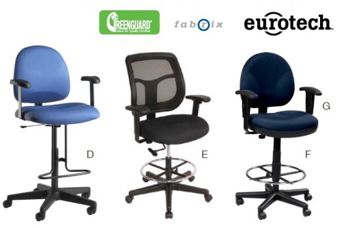 Exceptionnel 9to5, Boss, Eurotech And United Chair Stools