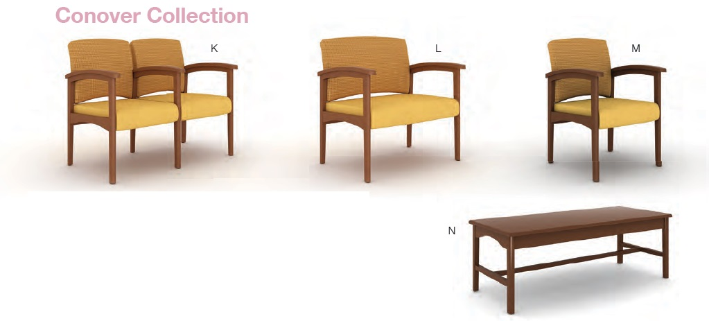 Haworth Legacy Healthcare Tandem Bariatric And Guest Seating Office Resource Group