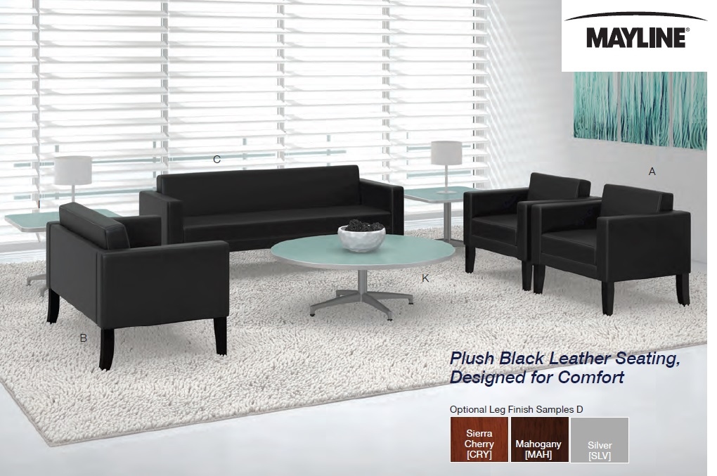 Mayline Prestige Series Reception Seating and Cohere Occasional ...