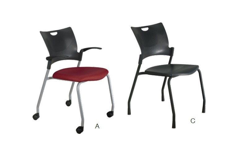 Product Image  sc 1 st  Office Resource Group & 9to5 Bella and Shuttle Series Stack Guest Chairs | Office Resource Group