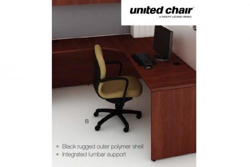 United Chair Brylee And Radar Series Task U0026 Guest Seating