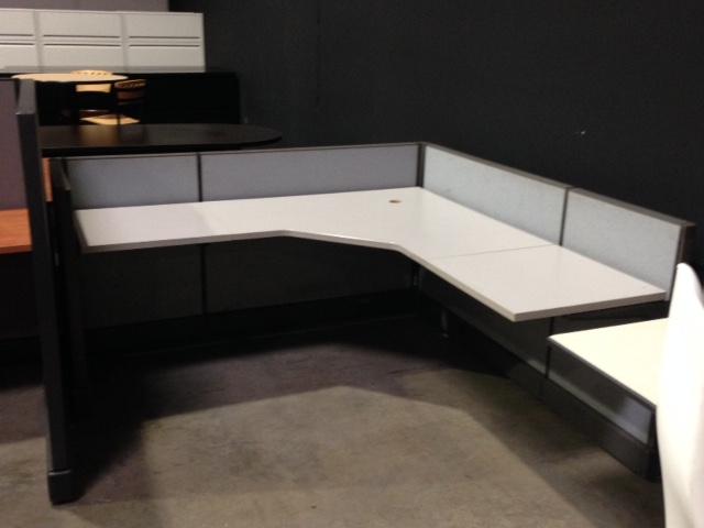 Herman Miller Ao2 6 X6 Short Panel Workstation Office