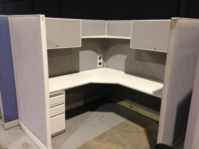 Haworth Places 6 X6 Cubicle Office Resource Group