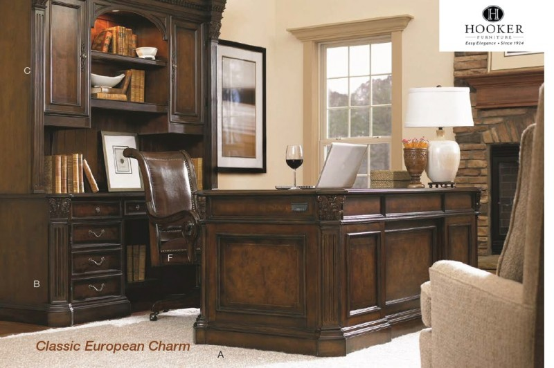 Hooker Furniture European Renaissance Ii Series Wood