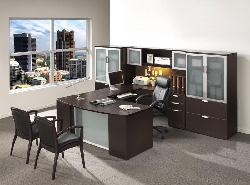 Ndi Performance Executive 71 U Group Desk With Laterals