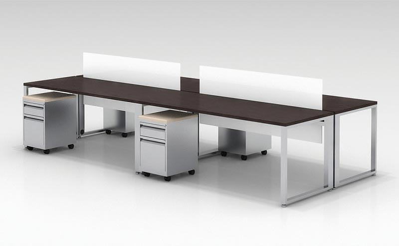 Ofd Connect It Pod Of 4 Benching 6ft Workstations