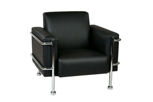 OFD Club Chair Chrome Frame