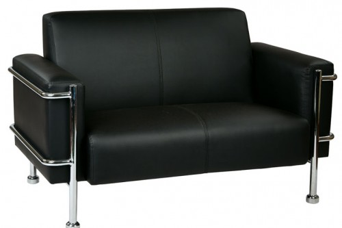 OFD Loveseat Chrome