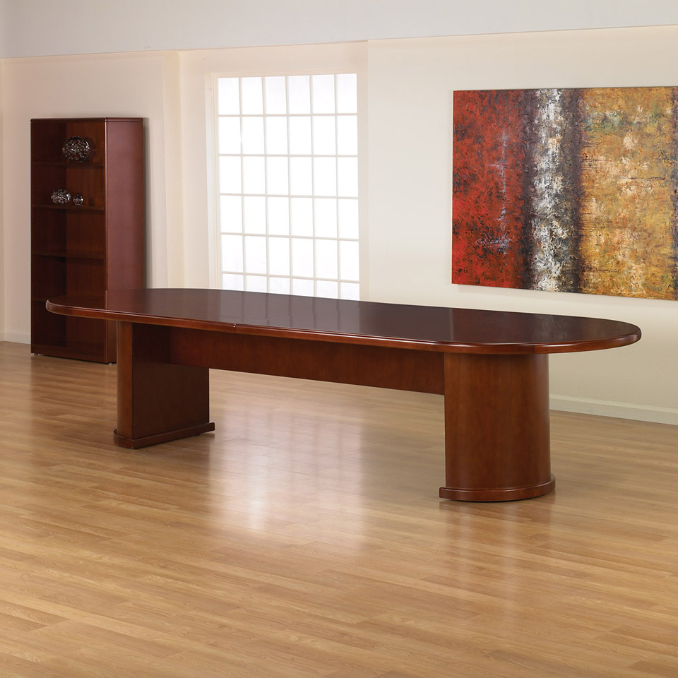 Brand new ofd studio series 12ft cherry wood veneer for 12 ft conference table