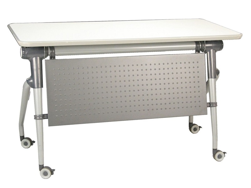 Dsa Dt 24 X48 Flip Top Training Table With Casters And