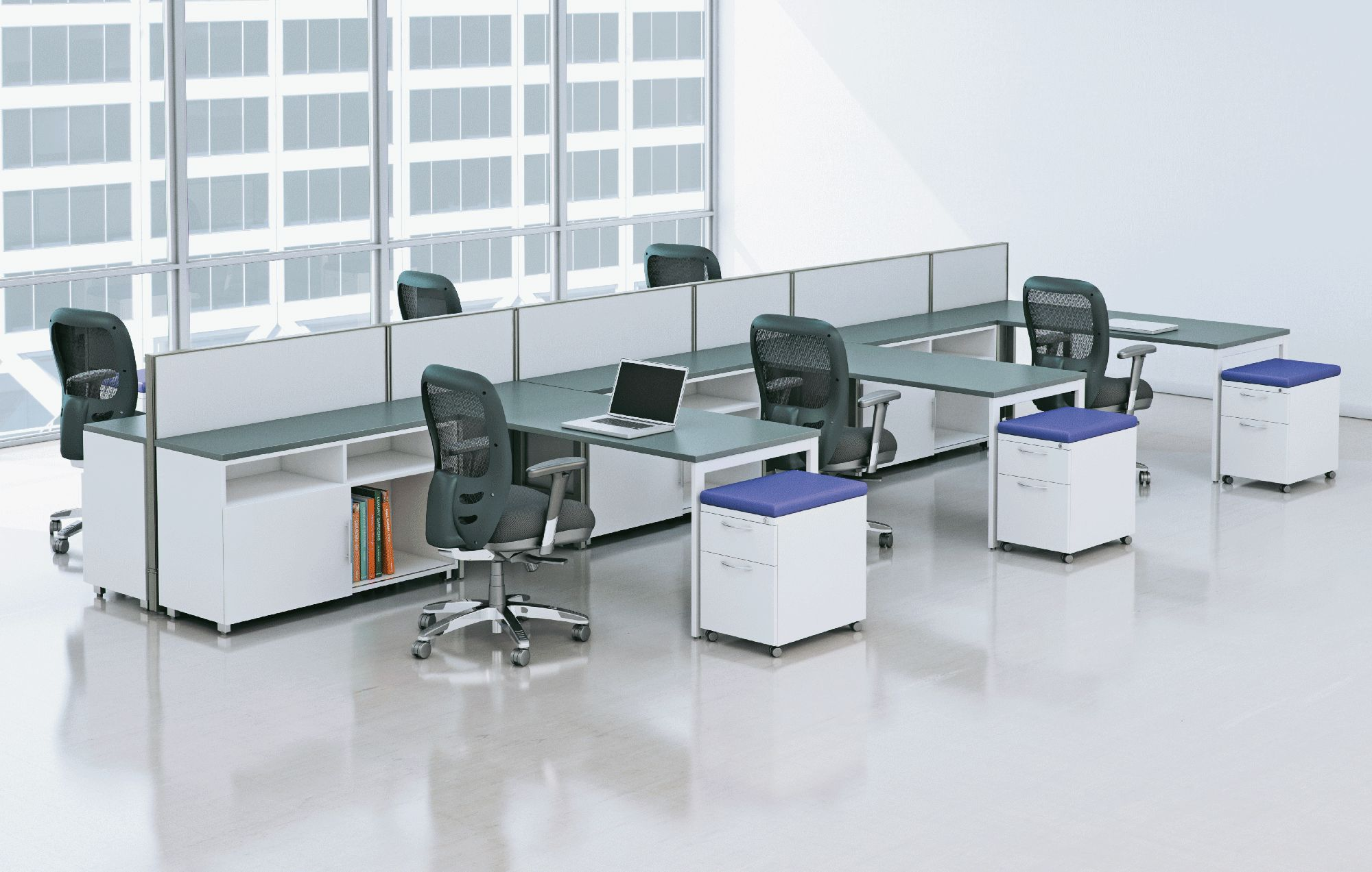 AIS Cubicle Workstation Panel System New