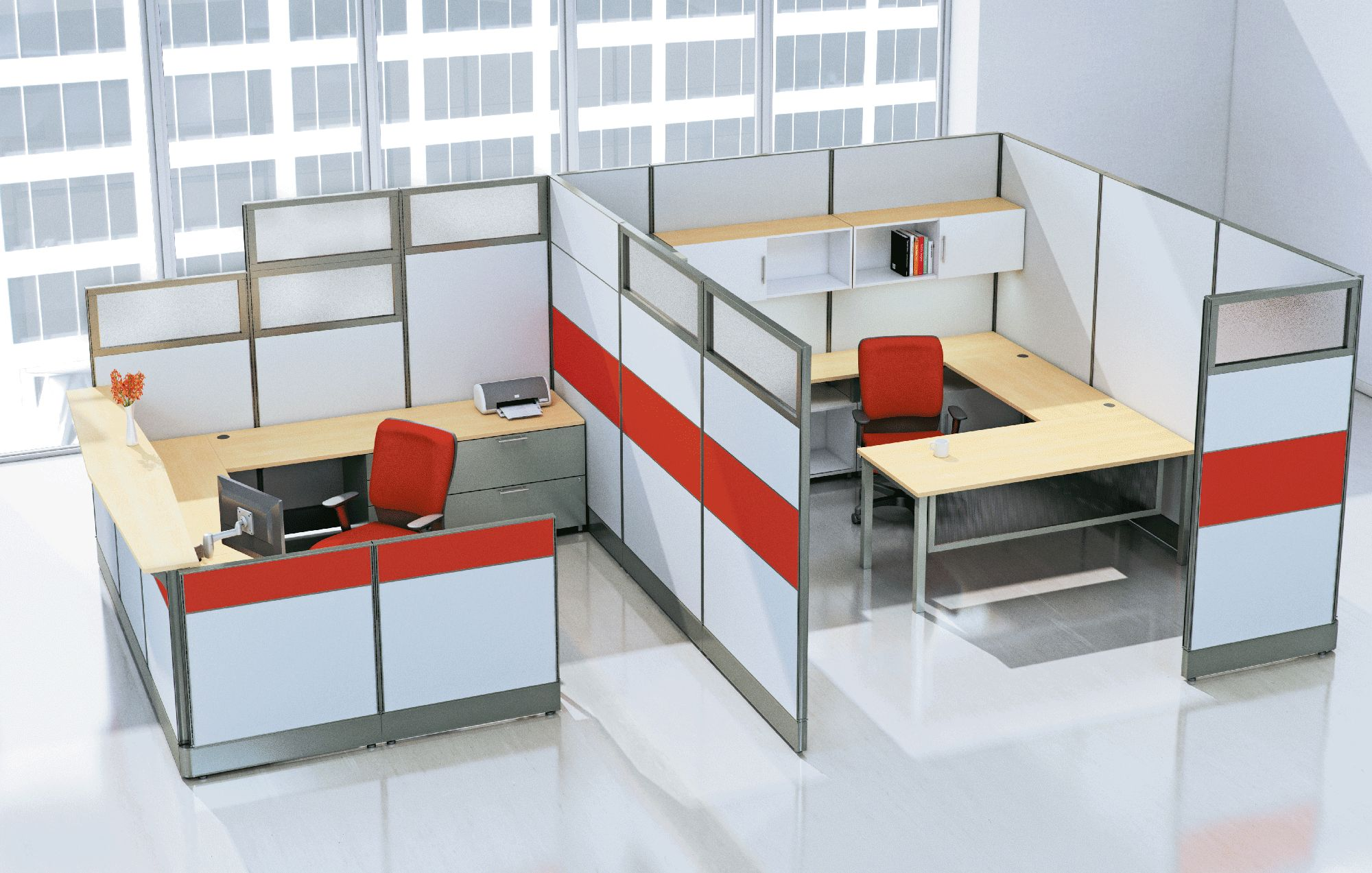 Ais Cubicle Workstation Panel System New Office