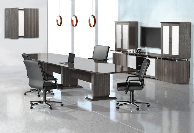 Mayline Sterling 12ft Laminate Conference Table 3 Colors