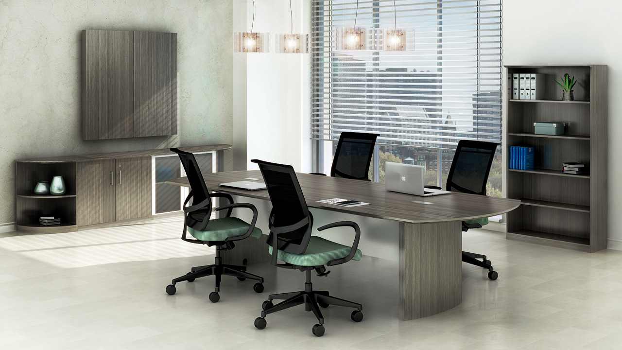 Conference Tables Office Resource Group - Gray conference table