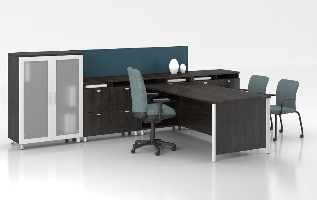 Lacasse Concept 3 Executive Office Suite With Storage 9