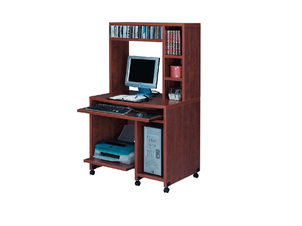 Ndi Performance Laminate Pl203 204 Mobile Computer Cart With Hutch 5 Colors Available New