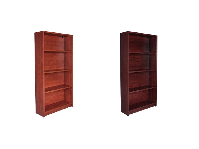 34eef9619f4 Express 69″ Tall 4 Shelf Laminate Bookcase- 3 Colors Available- New ...
