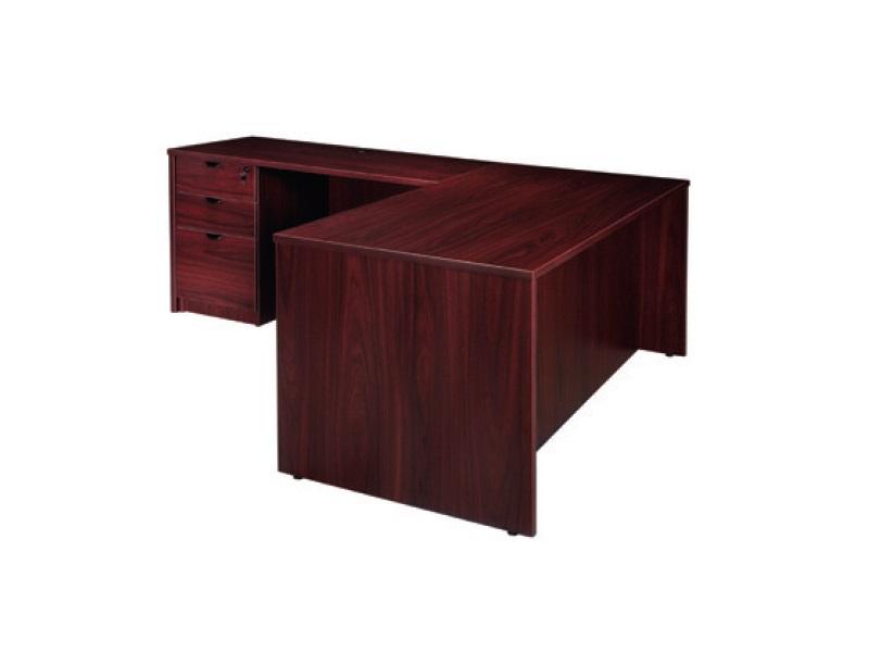 Express 71 L Shape Desk With 2 Full Storage Pedestals 3