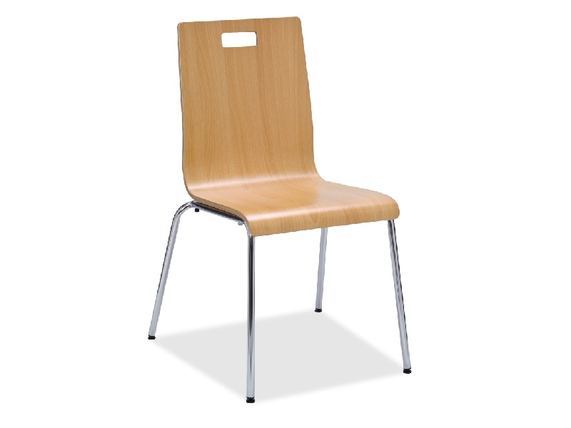 lorell bentwood café chairs steel frame natural or espresso