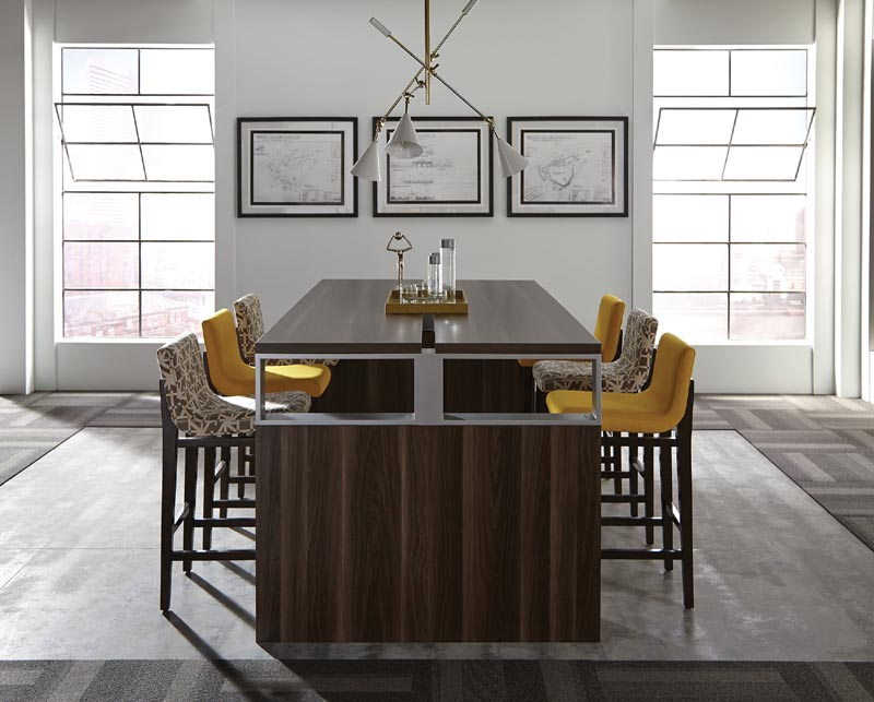 DMI Inigo Series Conference Table Office Resource Group - High top office table