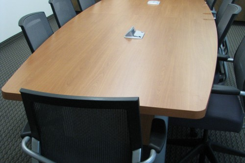 12ft Cherry Conference Table