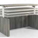 Aberdeen Series height adjustable desk
