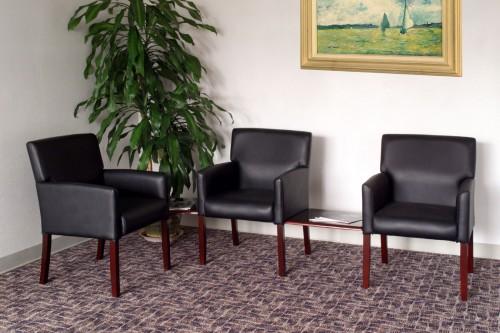 boss reception seating