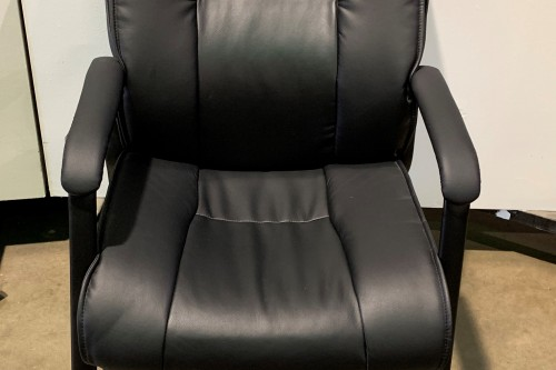 leather side chair